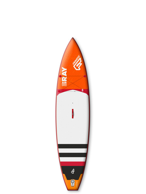 """Fanatic Ray Air Premium 12'6x32"""" Deska pomarańczowy/biały"""